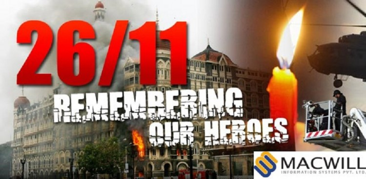 Macwill Salutes to the all Heroes of 26/11 attack