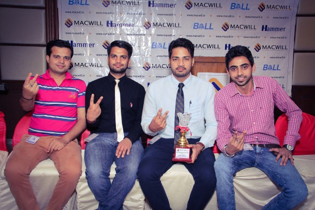 Best Department of the Year 2014-15 goes to Web Department